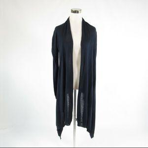 DKNY blue cotton swing sweater P